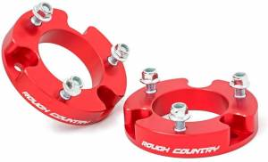 """Rough Country 2"""" Toyota Tacoma Suspension Leveling Kit 744RED"""