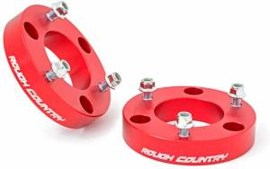 """Rough Country 2"""" Nissan Titan Suspension Leveling Kit 863RED"""