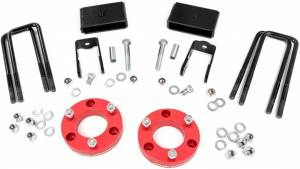 """Rough Country 2"""" Nissan Titan XD Suspension Leveling Kit 868RED"""