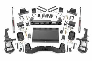 """Rough Country 6"""" 2021 Ford F-150 4WD Lift Kit with Premium N3 Shocks 58730"""
