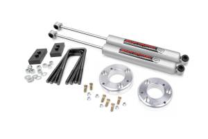 """Rough Country 2"""" 2021 Ford F-150 Lift Kit with Premium N3 Shocks 58630"""