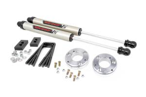 """Rough Country 2"""" 2021 Ford F-150 Lift Kit with V2 Monotube Shocks 58670"""
