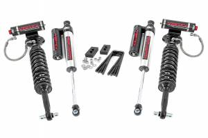 """Rough Country 2"""" 2021 Ford F-150 4WD Lift Kit with Vertex Coilover Struts and Vertex Reservoir Shocks 58650"""